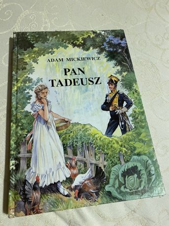 Pan Tadeusz ksiazka