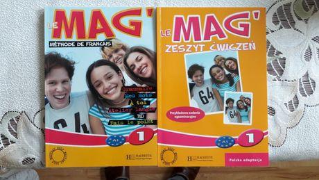 Książki do nauki języka francuskiego LE MAG poziom A1