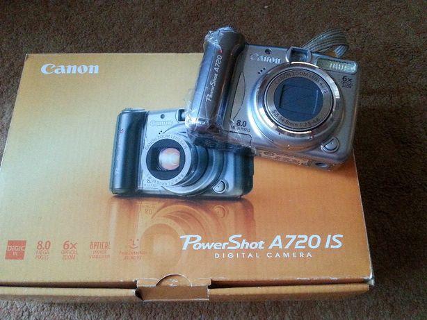 aparat fotograficzny Canon Power Shot A720 IS sprawny