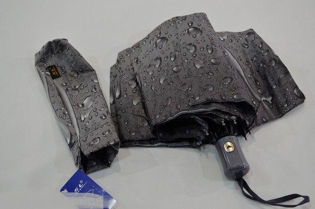 Женский зонт Полуавтомат, антиветер, 10спиц карбон складной