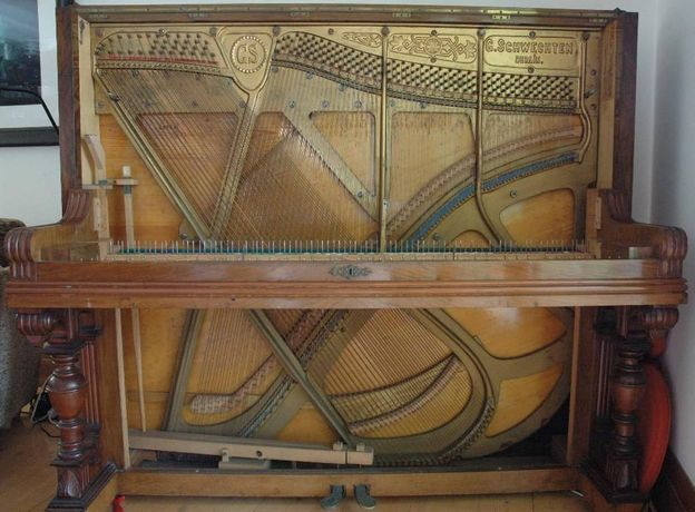 Strojenie pianin i fortepianów regulacja naprawa stroiciel