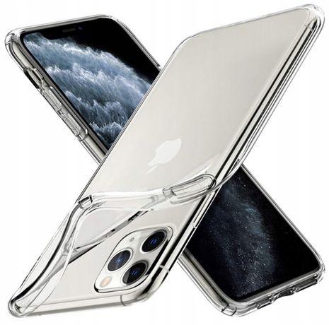 3 x zestaw etui silikonowe + szkło / Iphone 11 Pro Max
