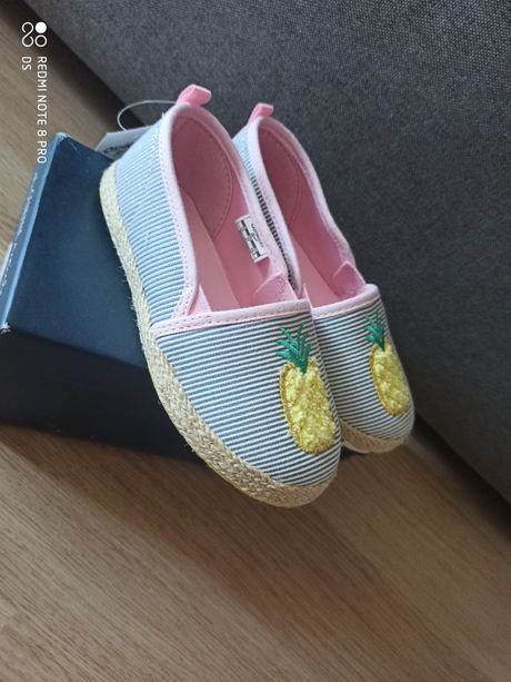 Туфли, балетки эспадрильи Oshkosh 16.2 см 16.8