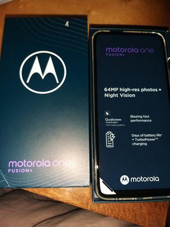 Motorola one fusion + nowa + nowe etui okazja !
