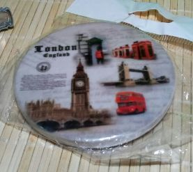 на холодильник магнит британия ЛОНДОН london керамика декор интерьер