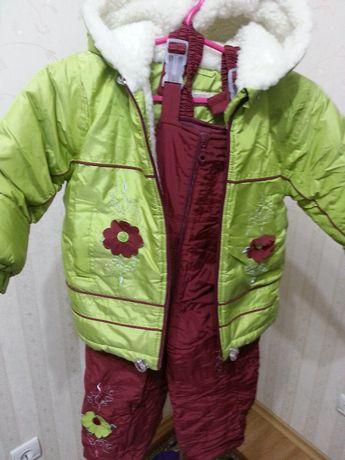 Зимний супер тёплый комбинезон, куртка+штаны пр-во Польша