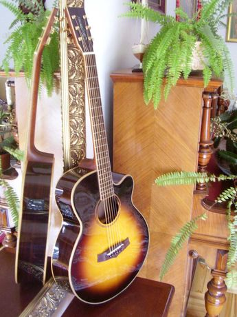 Elektro akustyk prod. angielskiej Handcrafted Rosewood TRSF CE VS nowa
