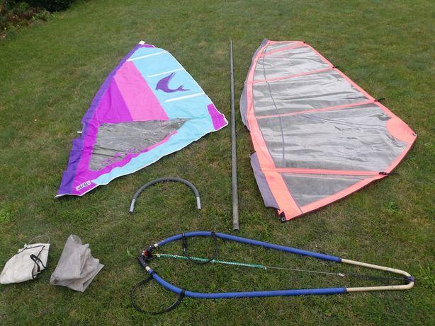 Zestaw do windsurfing żagiel 6.5 bom maszt