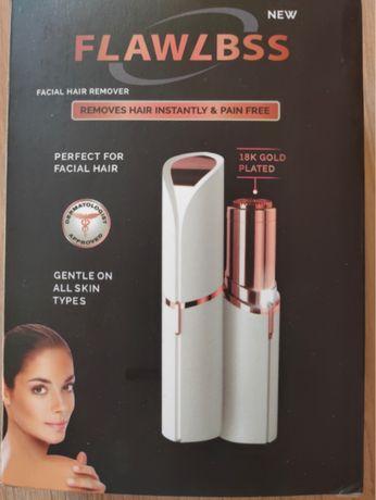 Мобильный эпилятор для лица (помада для губ) flawless