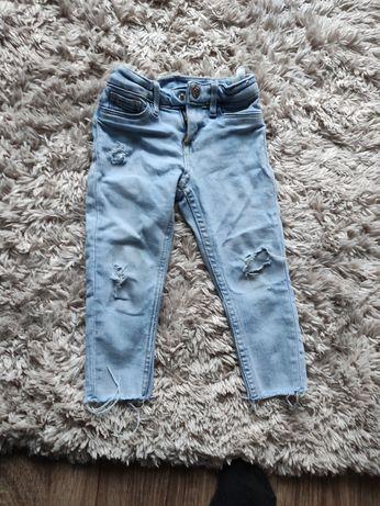 Spodnie jeansowe 1,5-2lat