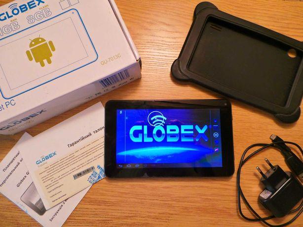 ОТМЕННЫЙ Планшет GLOBEX GU 7013C Комплект!