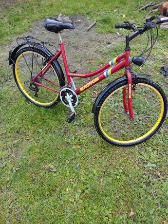 Sprzedam rower górski typu damka stan bardzo dobry mało używany poleca