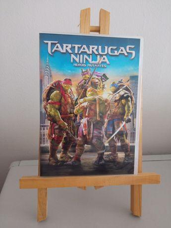DVD Tartarugas Ninja Heróis Mutantes (Portes Grátis)