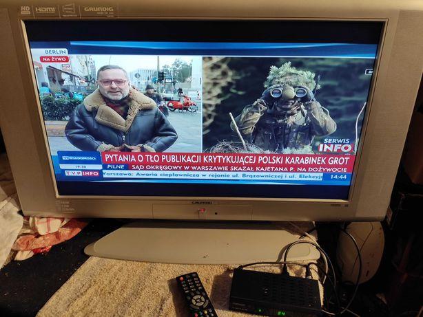 TV LCD Grundig 32 cale z tunerem naziemnym