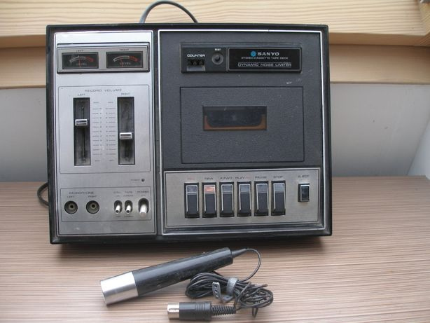 magnetofon deck Sanyo klasyk, RD4530E
