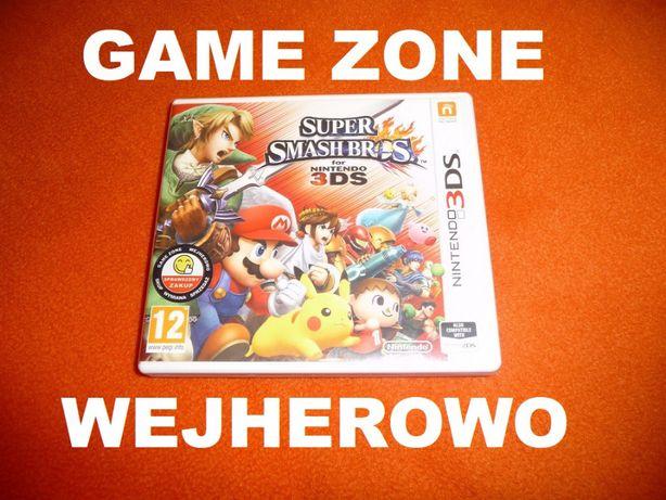 Super Smash Bros. Nintendo 3DS + 2DS = Wejherowo = Gwarancja