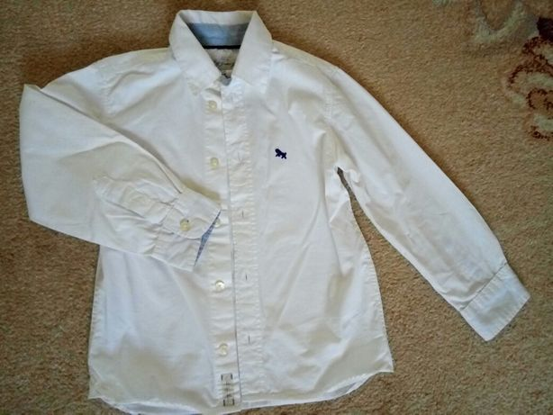 Рубашка белая Logg 110 116