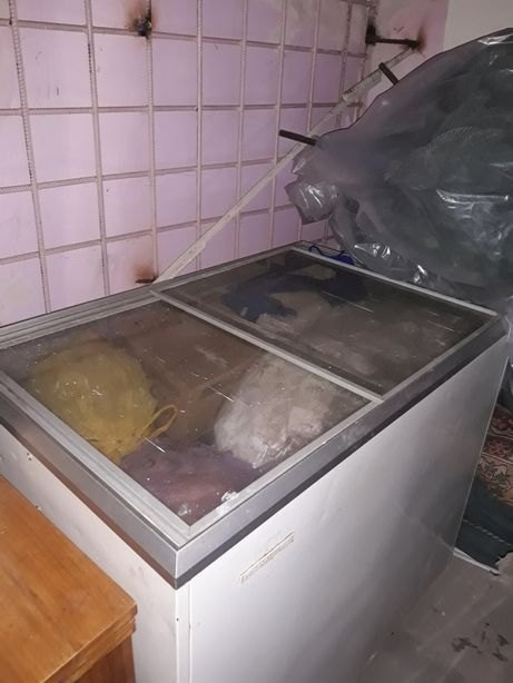 Морозилка,ларь (срочная продажа,надо освободить  гараж)
