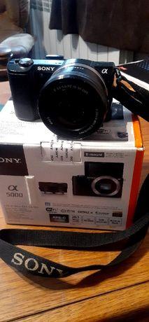 Aparat Sony Alpha 5000; a5000