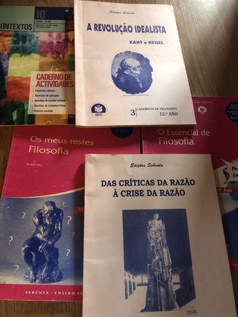 Livros de apoio de Filosofia
