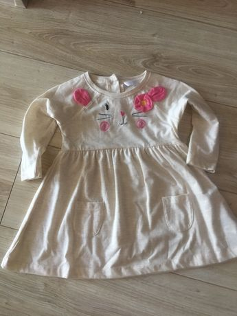 sukienka z uszkami