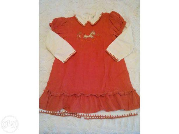 Vestido pre natal 3 anos