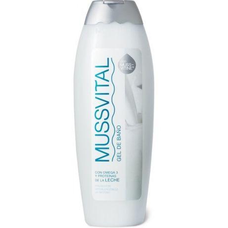 Żel pod prysznic do mycia MUSSVITAL Omega 3 Proteiny mleka Nawilżający