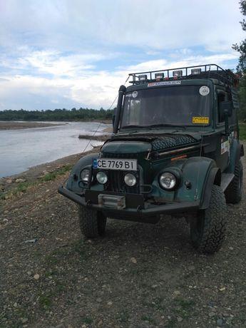 ГАЗ-69 Военные мосты