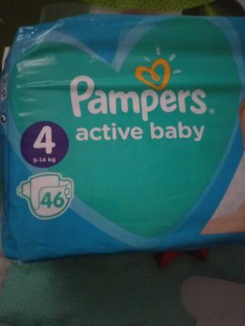 Pieluchy Pampers 4