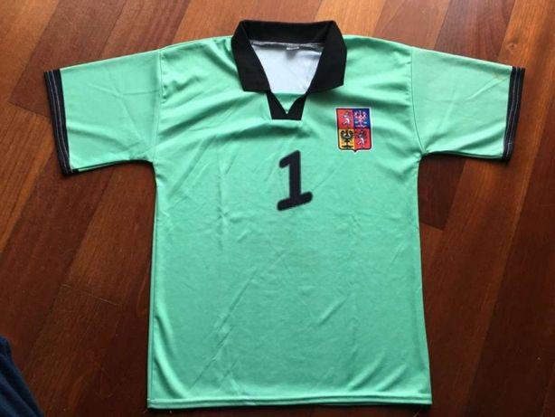 T'shirt desporto Petr Cech- República Checa, 8 anos