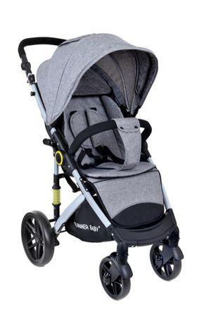Wózek, Spacerówka SEMPRE Summer Baby plus akcesoria