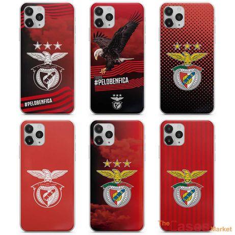 Capas de telemóvel Benfica SLB (iPhone, Huawei, Samsung, Xiaomi)