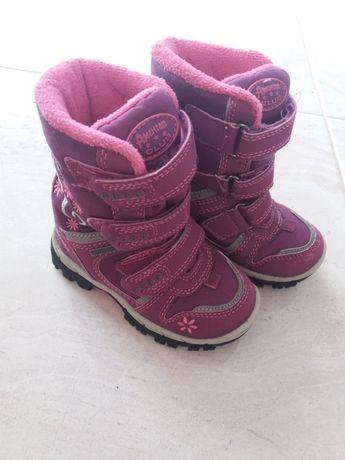 Zimowe buciki dla dziewczynki roz 23