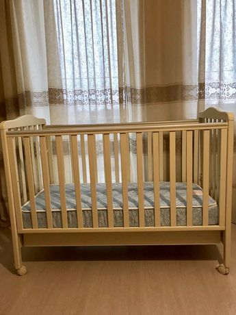 Детская кровать кроватка  Baby Italia Venice Италия плюс матрас Новые!