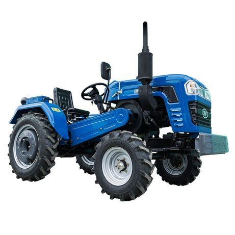 Минитрактор DW 240B с ременной передачей и мощностью 24 л.с.