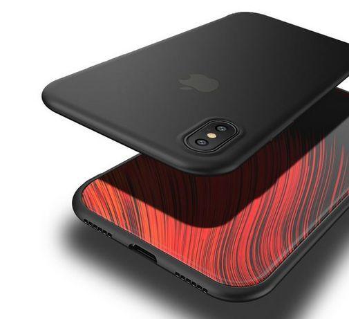 Luksusowe etui case cafele slim iphone x + szkło!