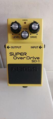 Pedal BOSS SD1 overdrive
