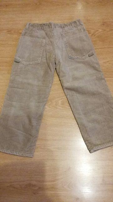 Spodnie ocieplane roz 116