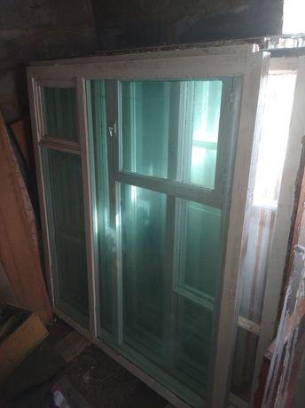 Окна с деревянной рамой