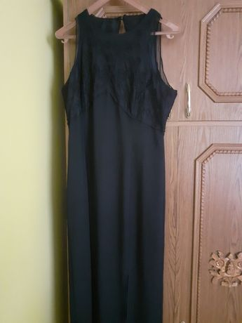 Czarna suknia wieczorowa rozmiar 40 -42