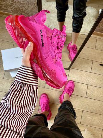 Buty Balenciaga Triple S Pink 36-40 damskie trampki top jakosc