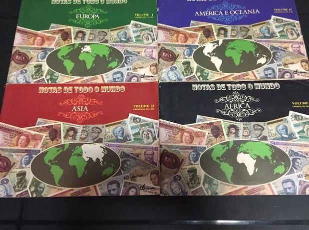 Colecção Numismática-5 Cadernetas