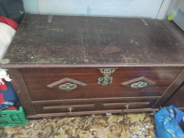 Baú madeira Vintage
