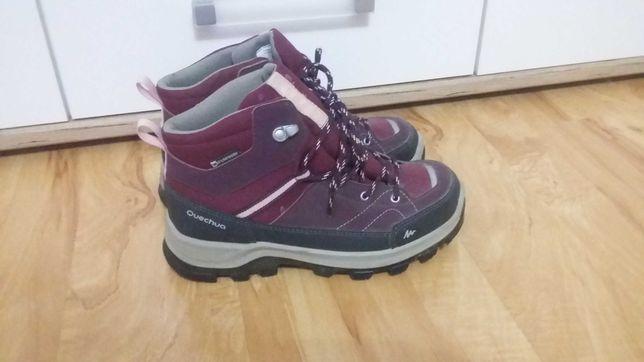Buty turystyczne dla dziewczynki 36 quechua Decathlon