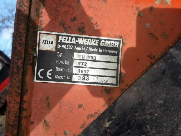 Części używane do przegrabiarki Fella TH 790