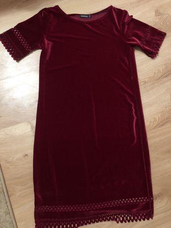 Велюрове плаття по фігурі