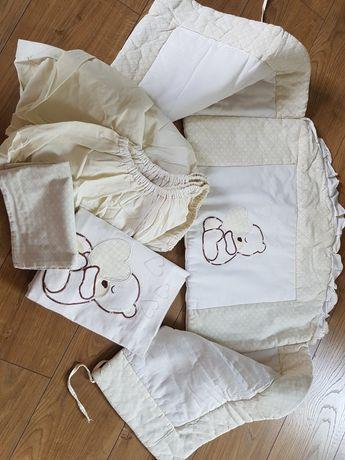 Pościel plus ochraniacze do łóżeczka