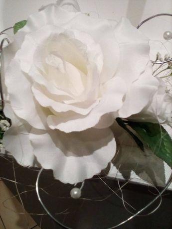 Piękne róże na auto do ślubu 50 szt