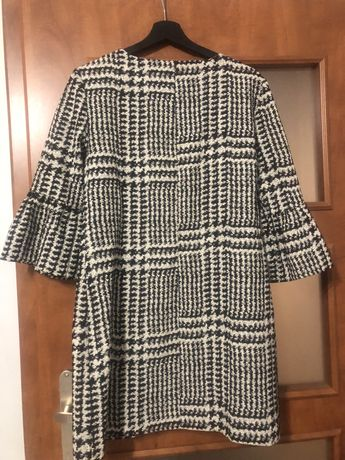 ZARA sukienka w kratkę M