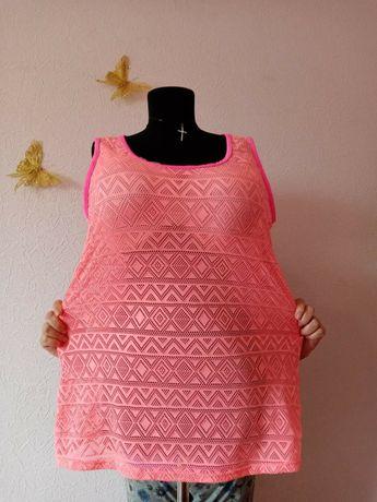 Большой размер 54-56 туника, футболка, майка платье сарафан